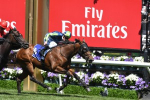 2017 Coolmore Stud Stakes Results: Merchant Navy Flies Late